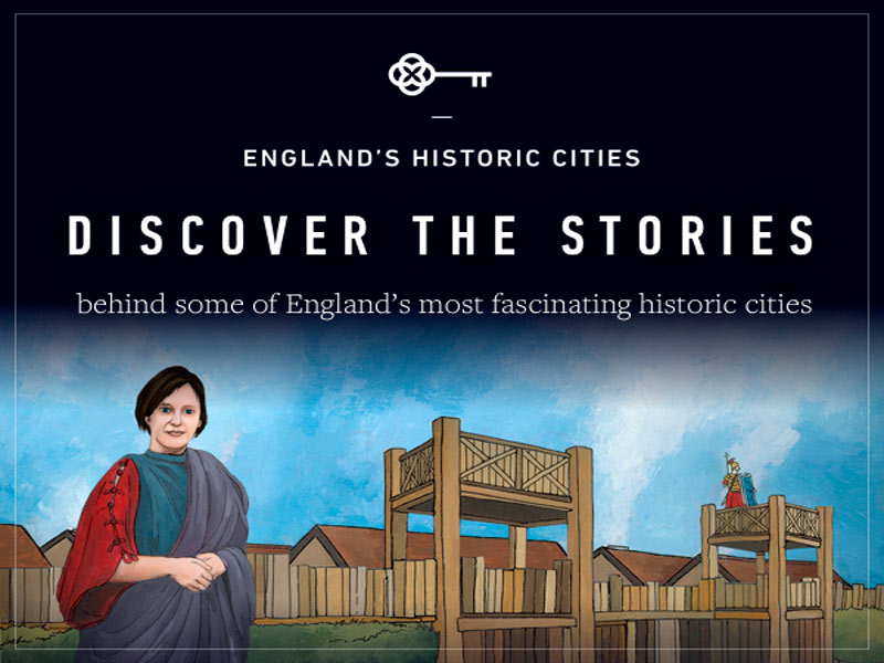 England Historic Cities App